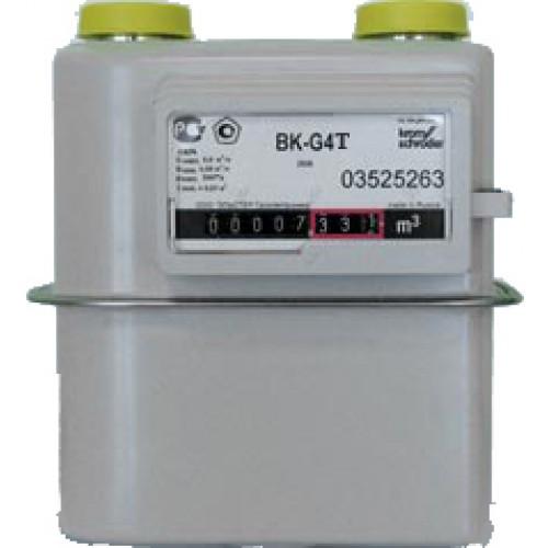 Счетчик газа бытовой с термокоррекцией ВК G4Т левый